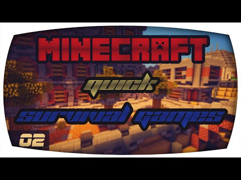 Minecraft Quick Survival Games | #02