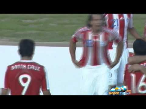 Goal Valdez on Brazil - Brazil 2 vs Paraguay 2 - Cuba america 2011