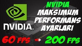 Nvidia Denetim Masası Ayarları ile Oyun Performansı ve FPS Arttırma