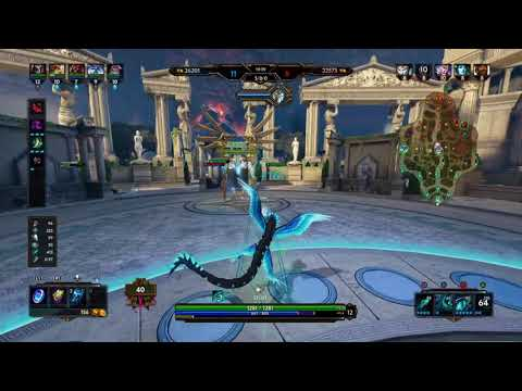 SMITE Conquest Medium Blue Kukulkan