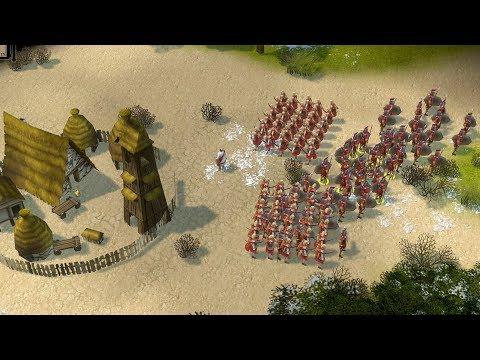 Praetorians HD Remastered - 1v1 SKIRMISH Gameplay