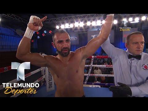Romon Barber vs. Farid Aghayev (Pelea completa) | Boxeo Telemundo | Telemundo Deportes