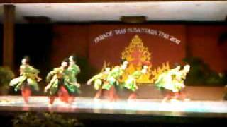 Tari Puteri siput gondang Penyaji terbaik 2 Parade Tari Daerah Nasional from Kepulauan Riau Part II