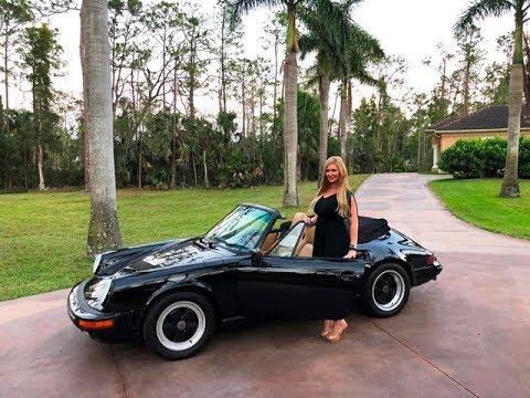 SOLD!!! 1989 Porsche 911 Carrera Convertible, 71K original mile garage  queen!