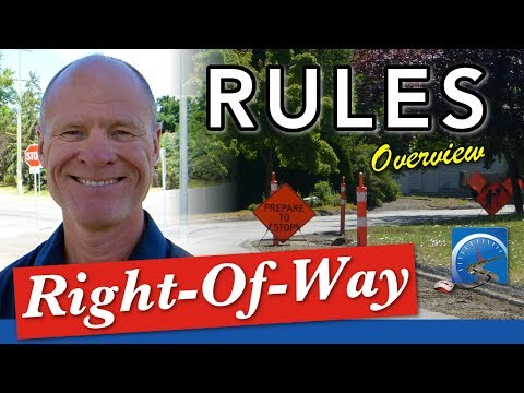 Learning to Drive & Determine Right-of-Way or Give Way to Other Road Users | Pass A Road Test Smart