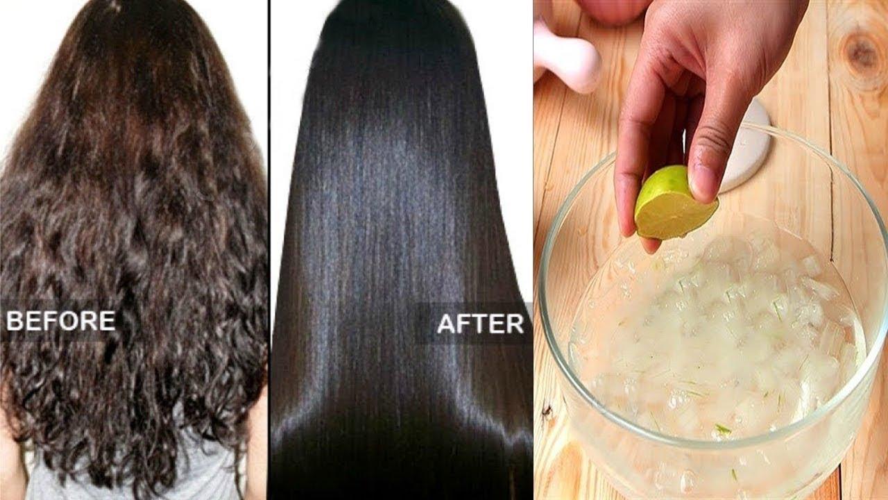 Doğal yollarla saç düzleştirme