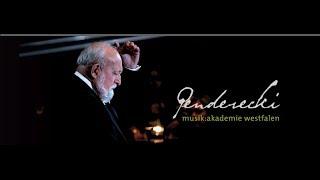 Penderecki musik:akademie westfalen