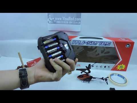 Máy bay trực thăng điều khiển từ xa Ming Ji 902