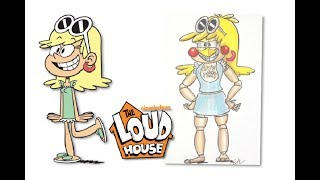 The Loud House Characters as FNAF Characters