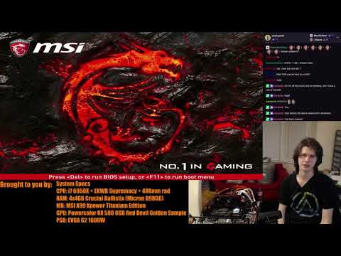 [VOD] AHOC livestream 56: Powercolor RX 580 Red Devil Golden Sample