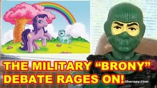 Bronies In The Military - Action Figure Therapy
