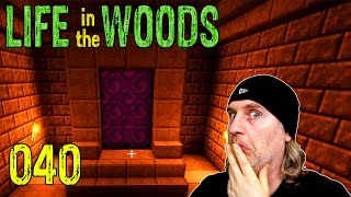 Minecraft [040] [Netherportal selber bauen] [Life in the Woods] Deutsch German thumbnail