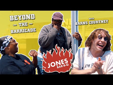 The Jones Sisters from Queer Eye eat BBQ with Barns Courtney | #BeyondtheBarricade