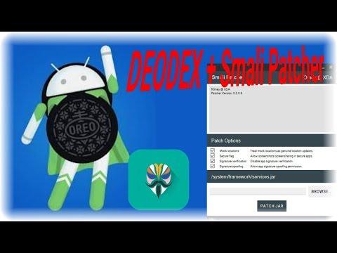 Trick baru Deodex dan membuat Smali Patcher Android OREO tanpa Ribet!!!