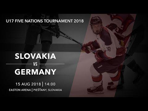 U17 5 Nations Tournament 2018   Slovakia – Germany