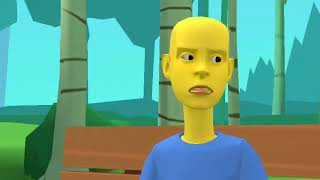 Caillou Gets Banned From Roblox And Gets Grounded