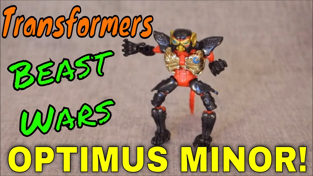 Beast Wars Optimus Minor - Could He Be the Worst Beast Wars Toy?