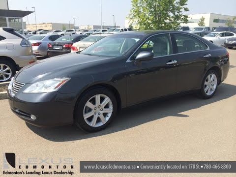 Pre Owned Gray 2008 Lexus Es 350 Fwd Premium Package