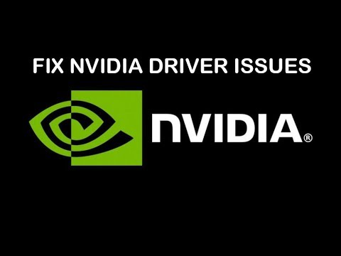 How To Fix ALL Nvidia Graphics Drivers Issues (August 2019) Still Works