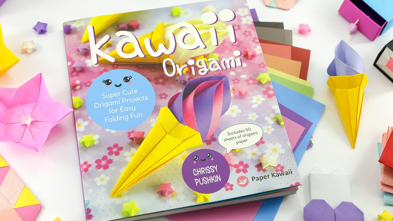 """1350 Sheet Star Origami Paper, 9"""" x 0.4"""" Double Sided Folding Star ... 
