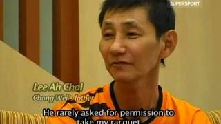 Lee Chong Wei Interview after Beijing Olympic Part 3