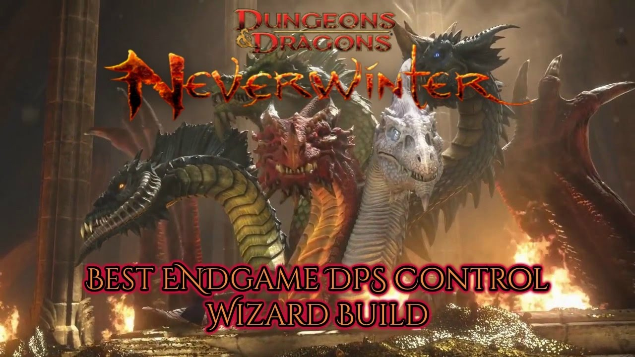 Neverwinter PURE DPS wizard build