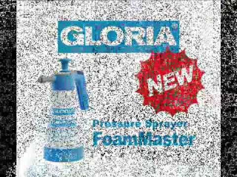 gloria foam master fm10 schuim drukspuit 1 liter youtube. Black Bedroom Furniture Sets. Home Design Ideas