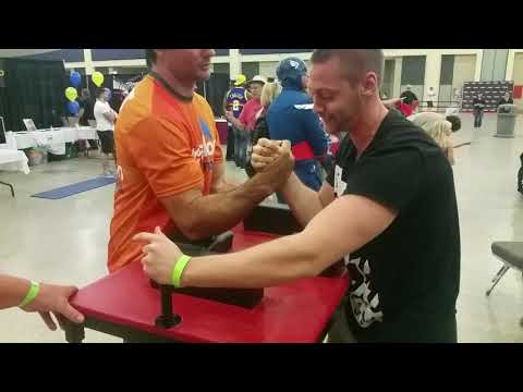 Devon Larratt vs Milan Stojanovic Armwrestling At The Buffalo Expo Center