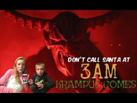 Don't Call Santa at 3 AM! KRAMPUS COMES