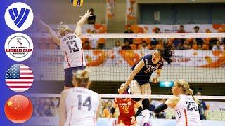 USA vs. China - Full Match | Women's Volleyball World Cup 2015