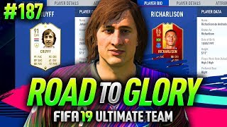 FIFA 19 ROAD TO GLORY #187 - TESTING 91 CRUYFF & 86 RICHARLYSON! thumbnail