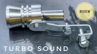 รีวิว เสียงเทอร์โบ หวีดเทอร์โบ ติดตั้งเองง่ายๆ สะใจ Turbo Sound Whistle | CHANAWAN