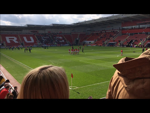 Rotherham United Vs Ipswich Town - Match Day Experience