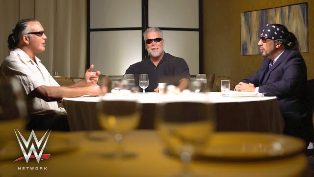 scott hall kevin nash and sean waltman talk about leaving for wcw on table for 3 on wwe. Black Bedroom Furniture Sets. Home Design Ideas