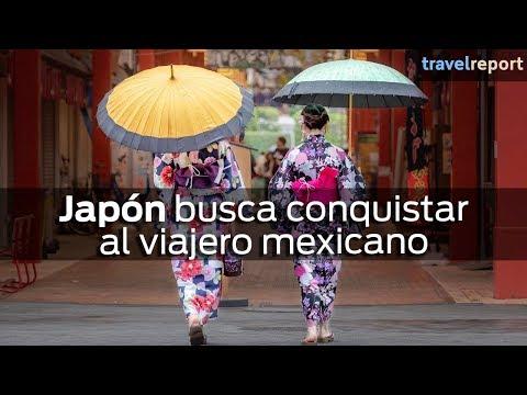 Japón busca conquistar al viajero mexicano