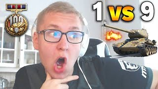 1 VS 9 i 14 FRAGÓW - MISTRZ???? - World of Tanks