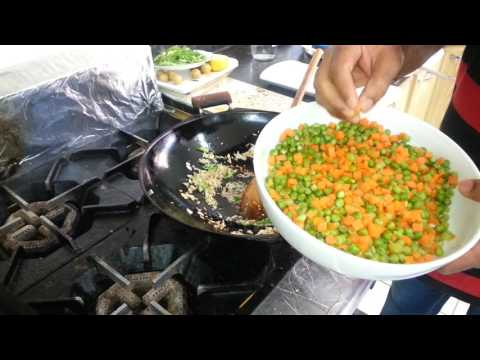 How to make easy home made Vegetable Manchurian with Vegetable Fried Rice Chinese Recipe – Chef PAUL