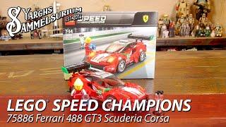 LEGO Speed Champions - Ferrari 488 GT3 Scuderia Corsa 75886 - Unboxing Review - deutsch