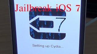 Jailbreak iOS 7 untethered Deutsch iPhone 5s / iPad Air / iPod 5 / alle Geräte!!!