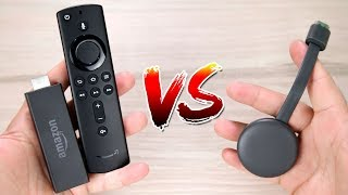 AMAZON FIRE TV STICK VS GOOGLE CHROMECAST 3 - QUAL É O MELHOR?