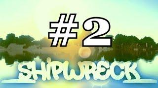 MineCraft ShipWreck #2 - Zon, Strand en Geesten!