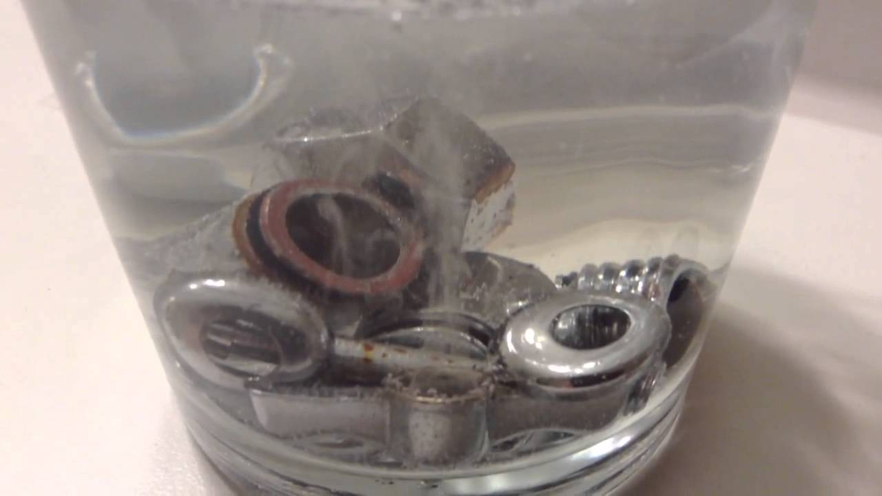 Vinegar Limescale Calcium Carbonate Removal Bubbles