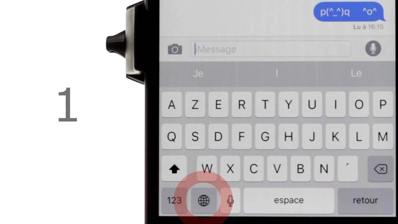 Debloquer Une Liste D Emoticones Japonais Cachee Sur Votre Iphone Ios Youtube