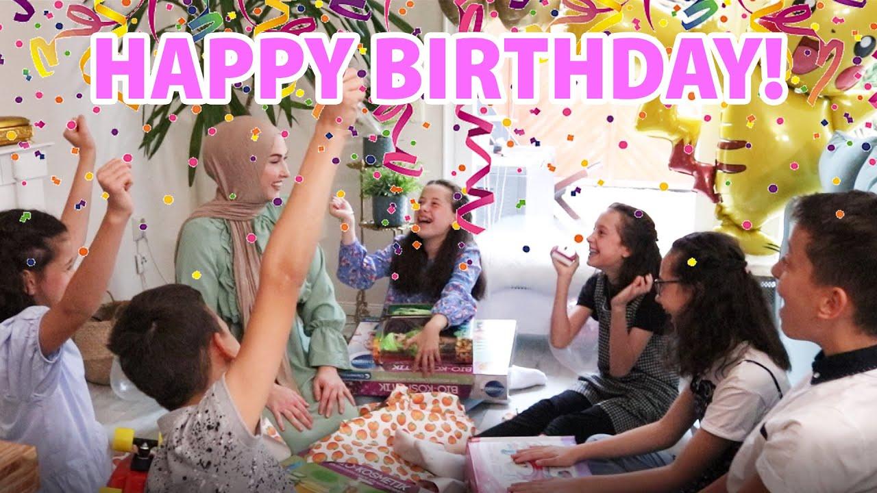 Die Sechslinge feiern ihren 12. Geburtstag | Berliner Sechslinge