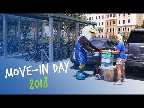 FGCU's Move-In Day - 2018
