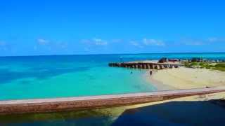 A stroll through Ft Jefferson at Dry Tortugas National Park Florida