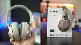 معاينة سماعات MDR1000x من سوني   ملكة إلغاء الضجيج!