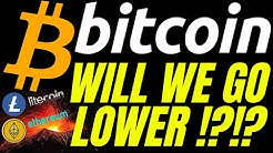 HOW LOW CAN BITCOIN LITECOIN and ETHEREUM GO!? crypto price prediction, analysis, news, trading