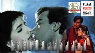 Saathi Mere Tere Bina Karaoke Track for male singers with scrolling lyrics