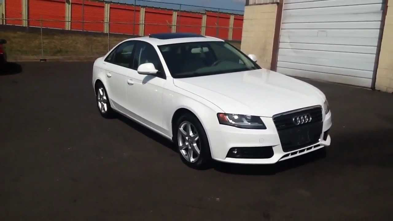 2009 audi a4 2 0t quattro awd sedan for sale in pennsylvania youtube. Black Bedroom Furniture Sets. Home Design Ideas